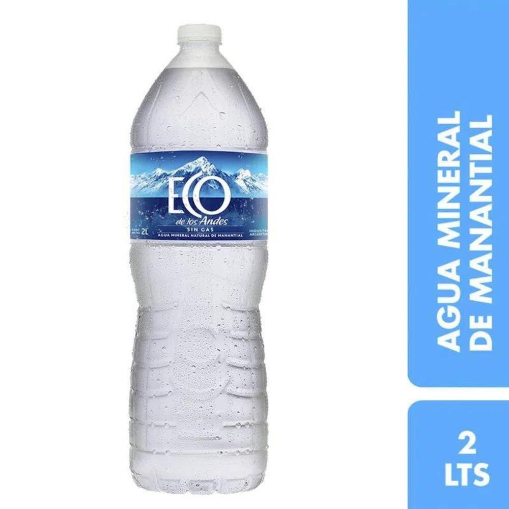 Agua Mineral Eco De Los Andes Botella 2 L