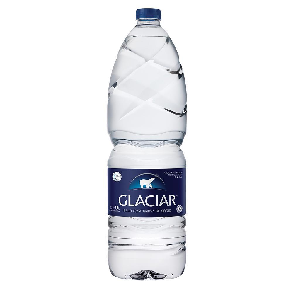 Agua Mineral Glaciar Botella 1.5 L