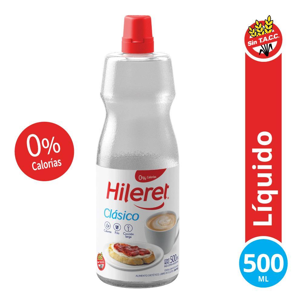 Edulcorante HILERET Clásico Botella 500 Cc