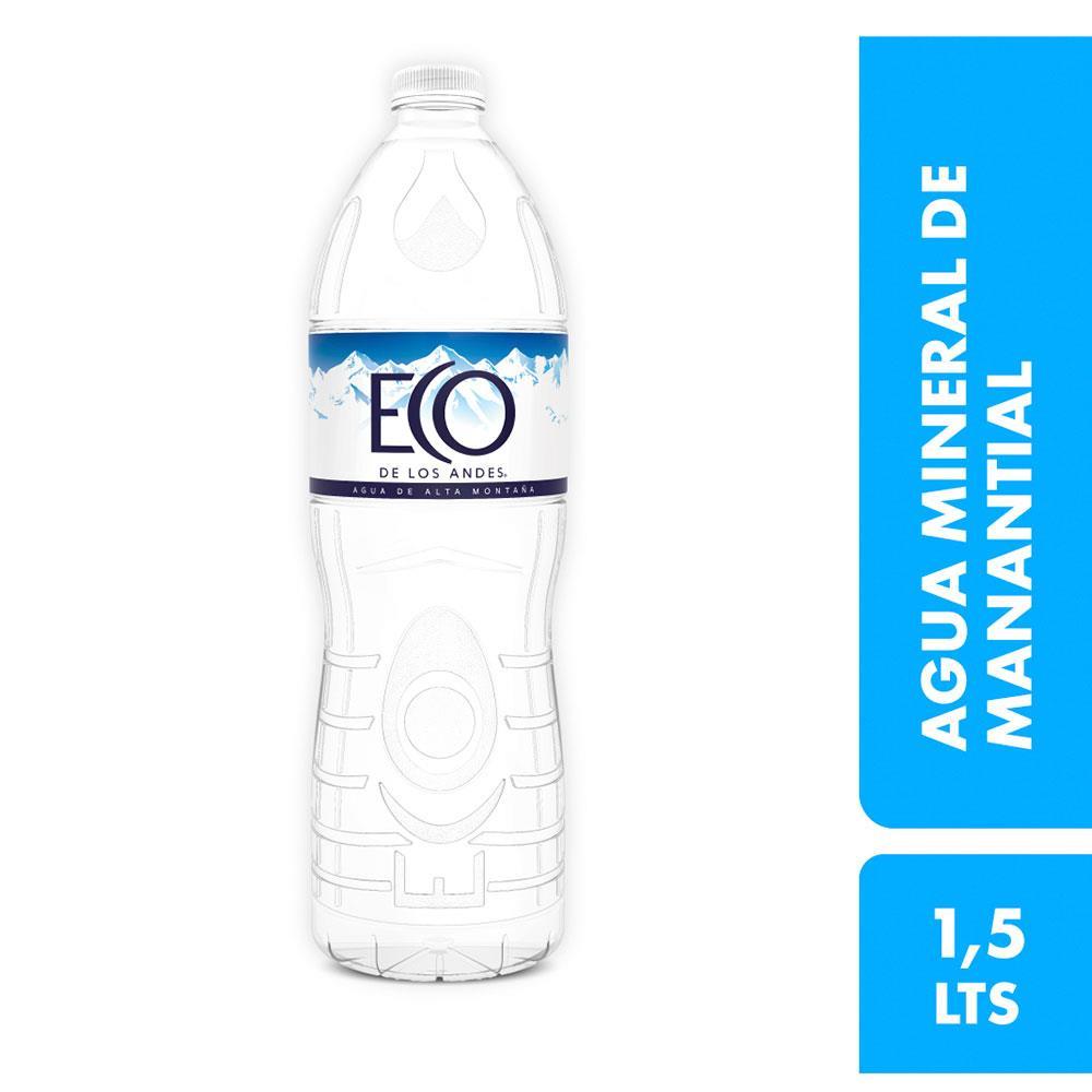 Agua Mineral Eco De Los Andes Botella 1.5 L