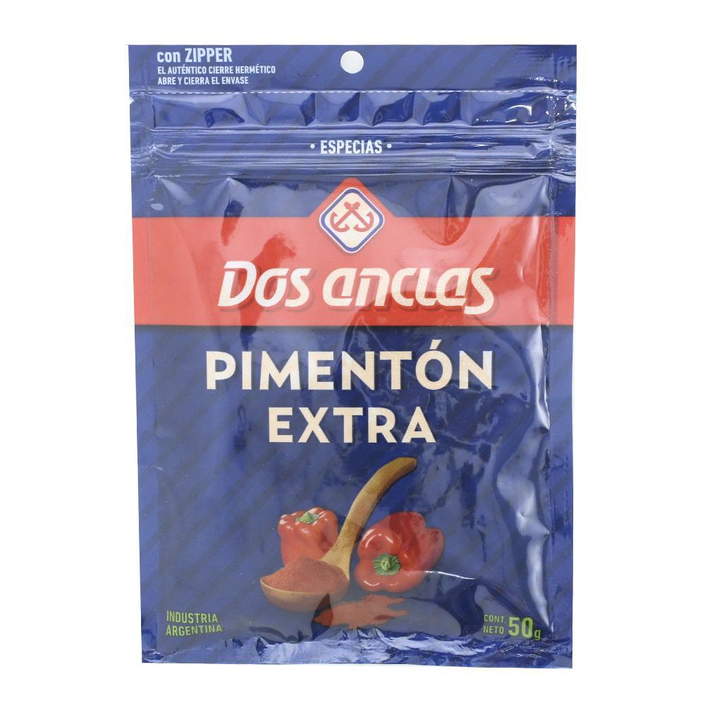 Pimentón DOS ANCLAS Extra Sobre 50 Cc