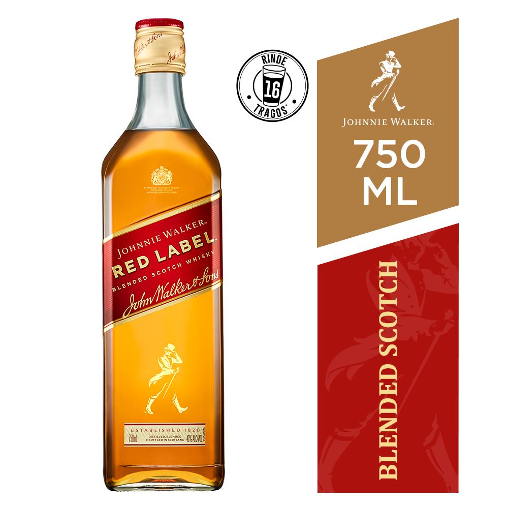 Whisky Johnnie Walker  750 Ml Red Label