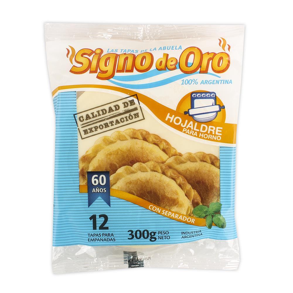 Tap.Empanada Horno Signo De Oro Paq 300 Grm
