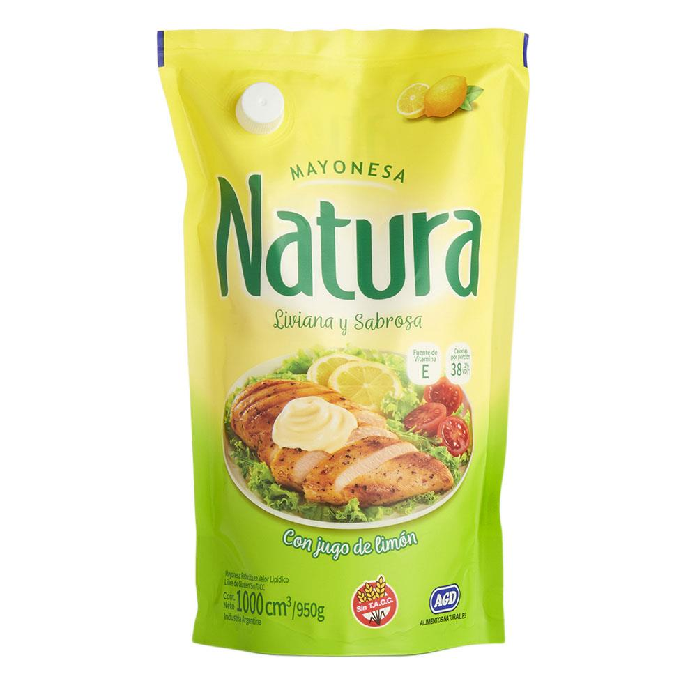 Mayonesa Natura  Pouch 950 Gr