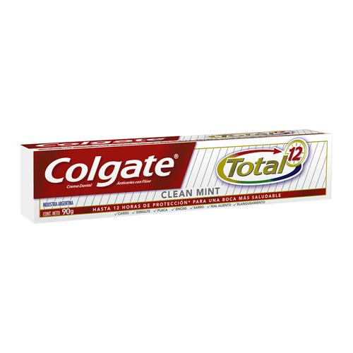 Crema Dental COLGATE Total 12 Clean Mint Pomo 90 Gr