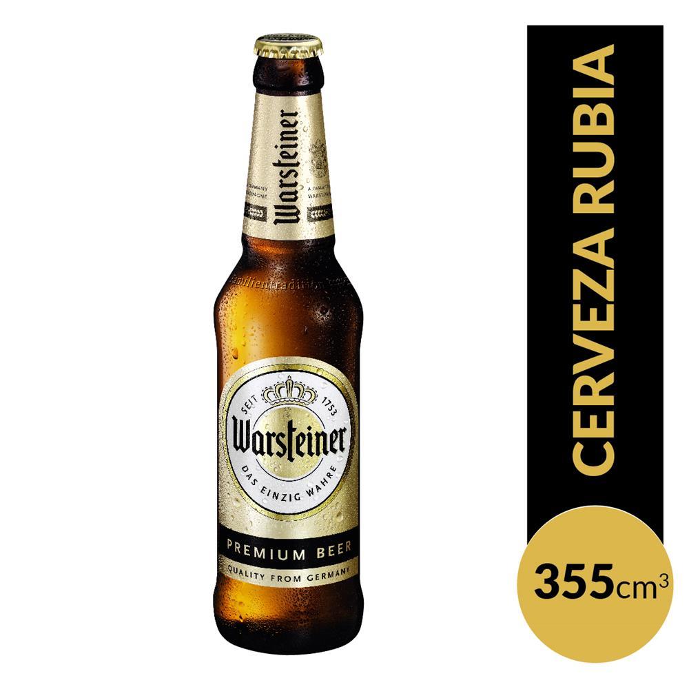Cerveza WARSTEINER Porron 355 Cc