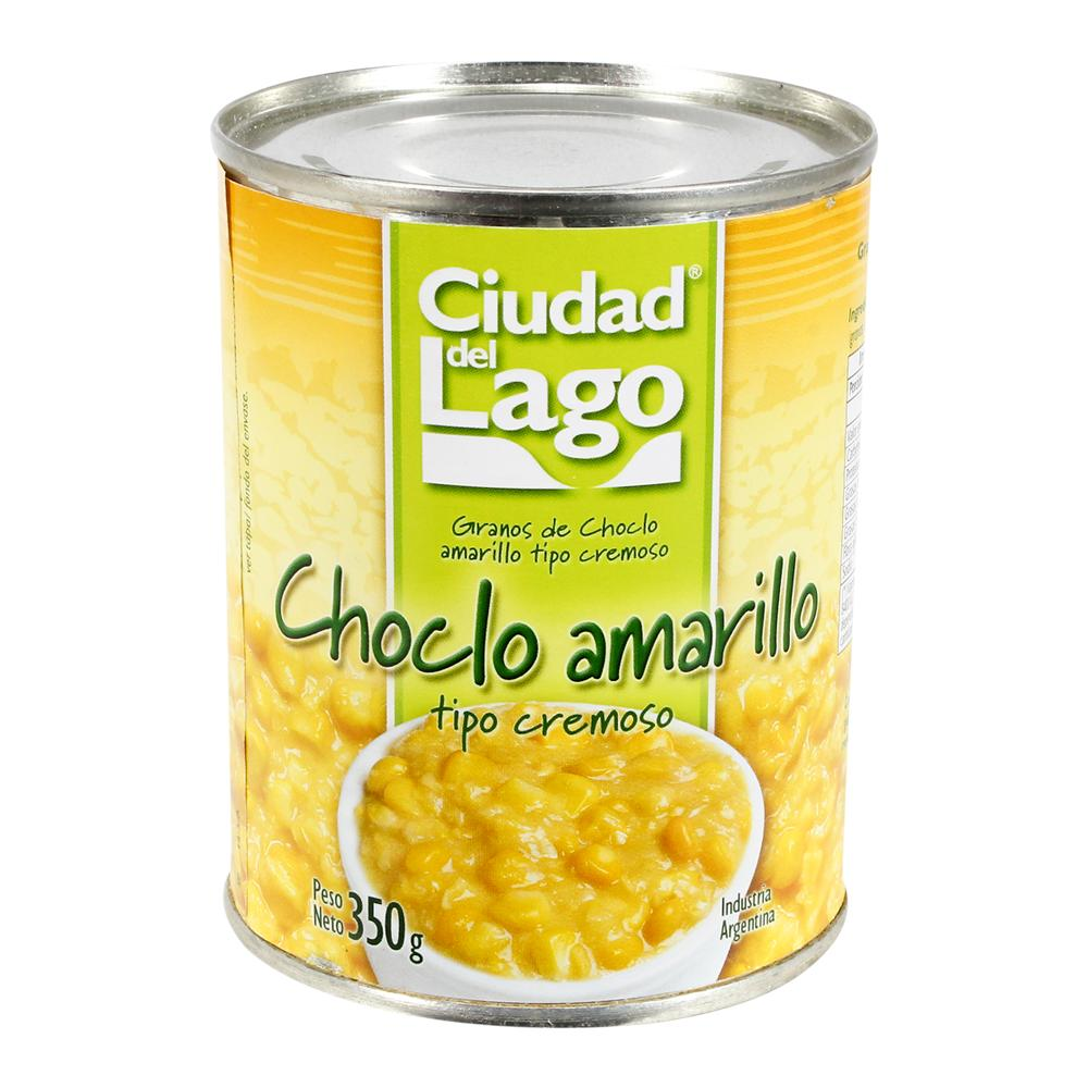 Choclo Ciudad Del Lago Cremoso Lata 350 Gr