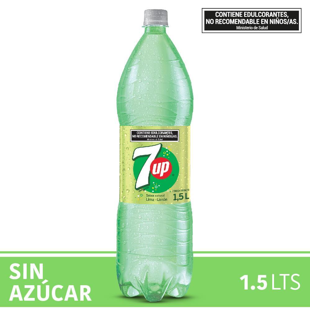 Gaseosa SEVEN UP Free Botella 1.5 L