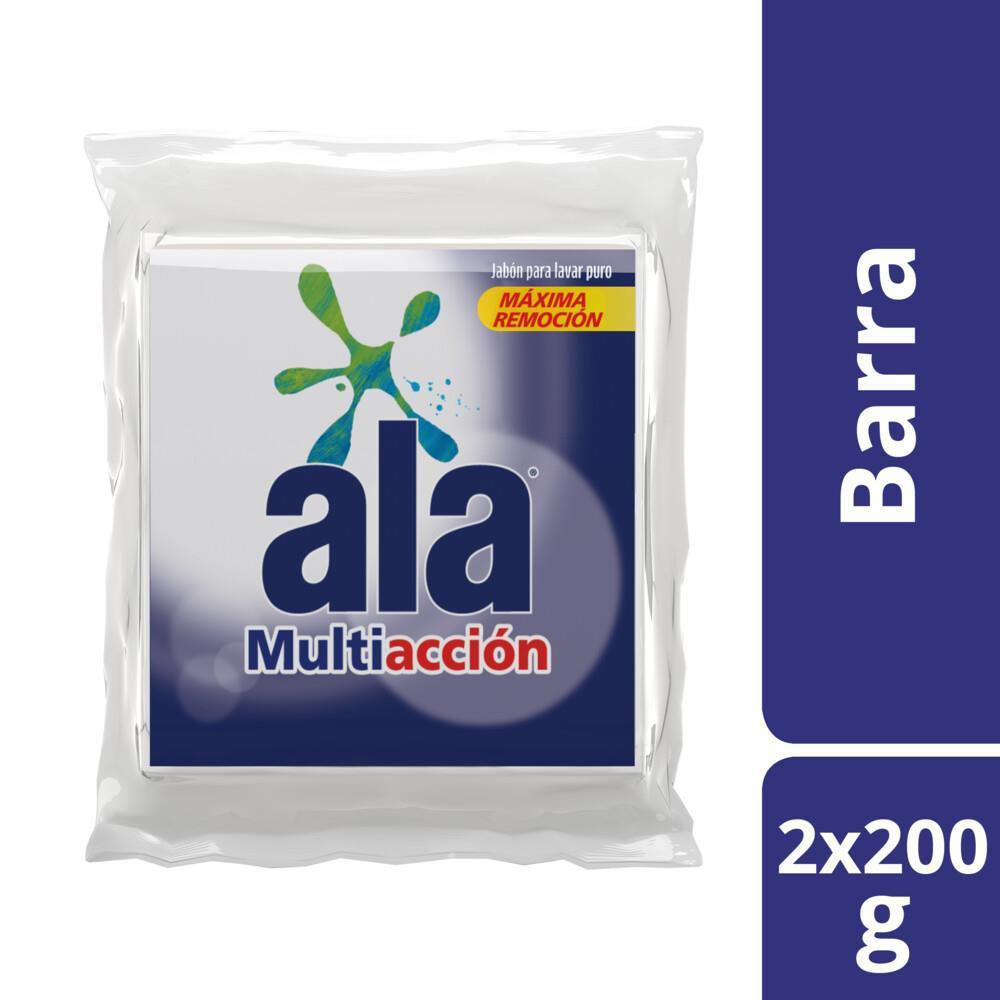 Jabón En Pan ALA Paquete 200 Gr 2 Unidades