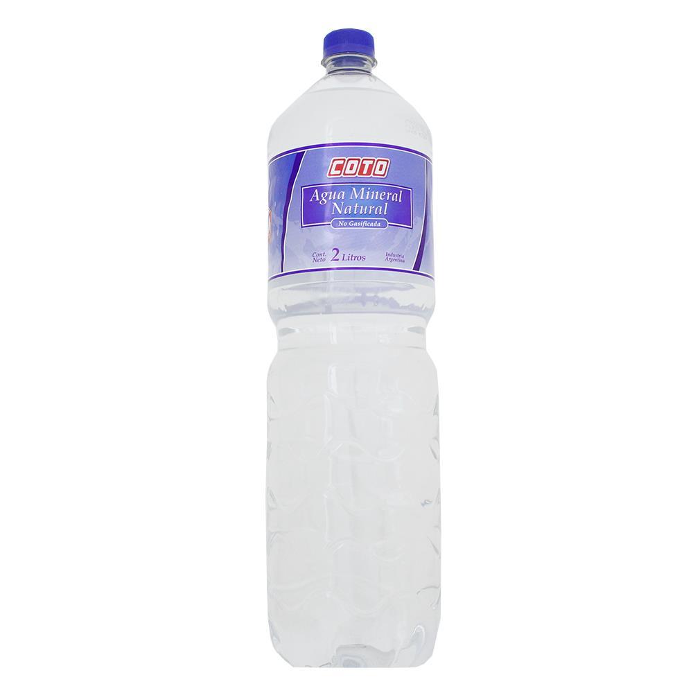 Agua Mineral Coto Botella 2 L