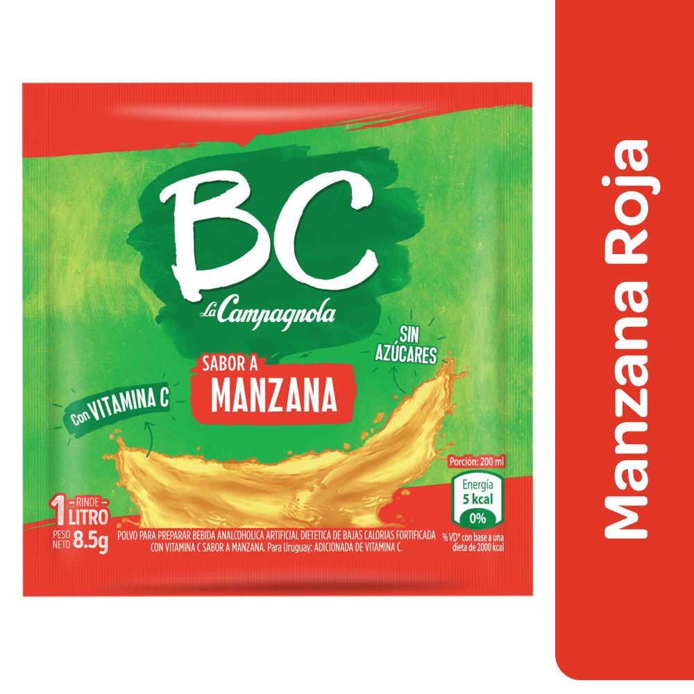 Jugo En Polvo BC Manzana    Sobre 8.5 Gr