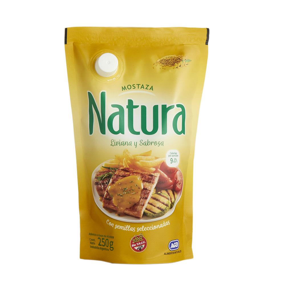 Mostaza NATURA   Pouch 250 Gr