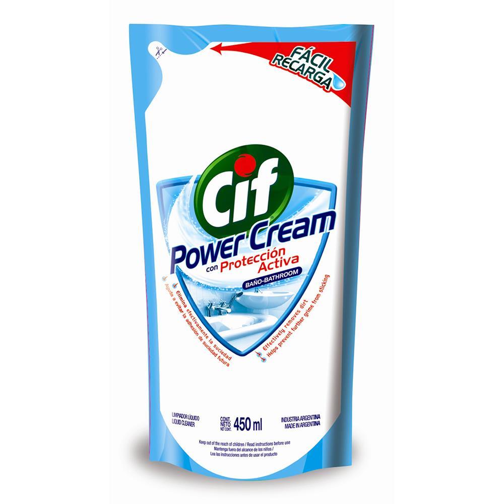 Limp.Baño P. Cream Cif Doy 450 Ml