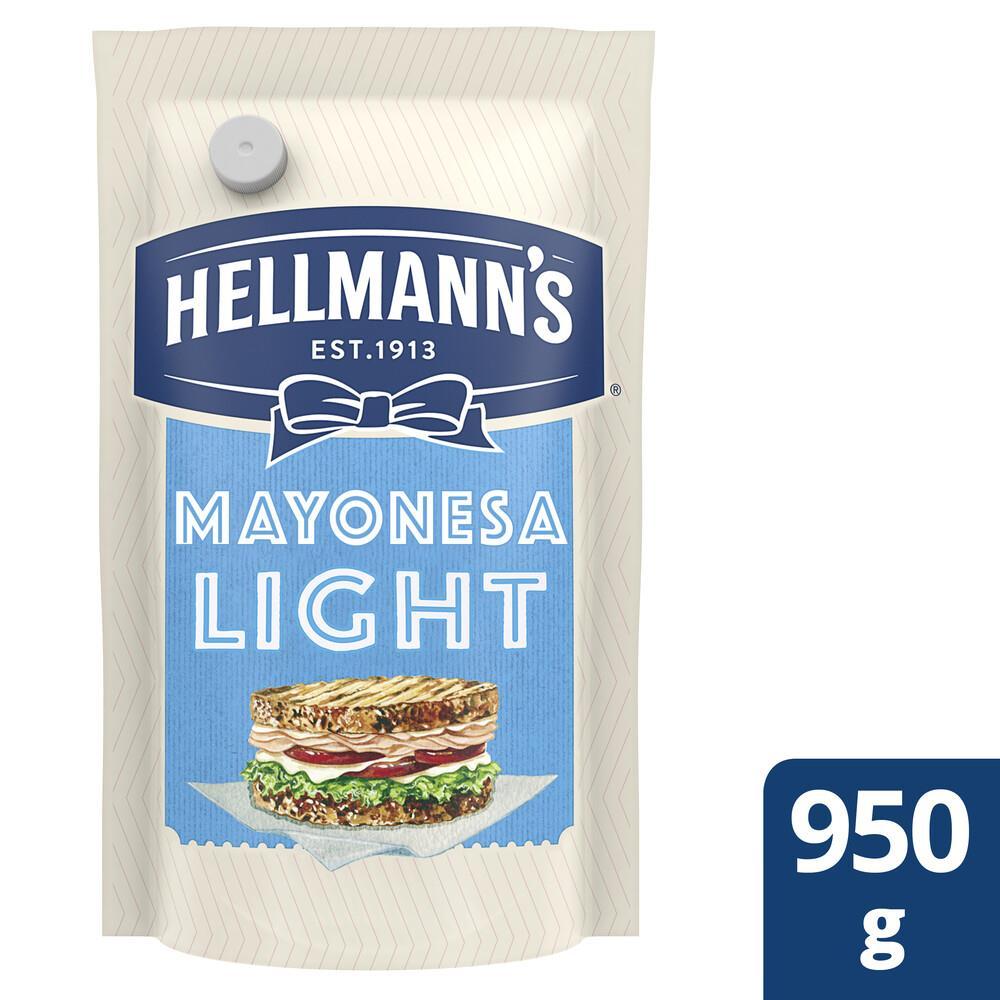 Mayonesa HELLMANNS Light Pouch 950 Gr