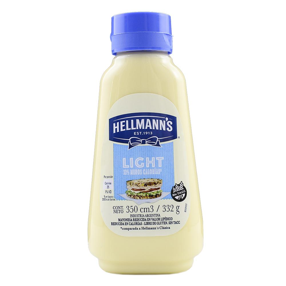 Mayonesa HELLMANNS Light Pet 332 Gr