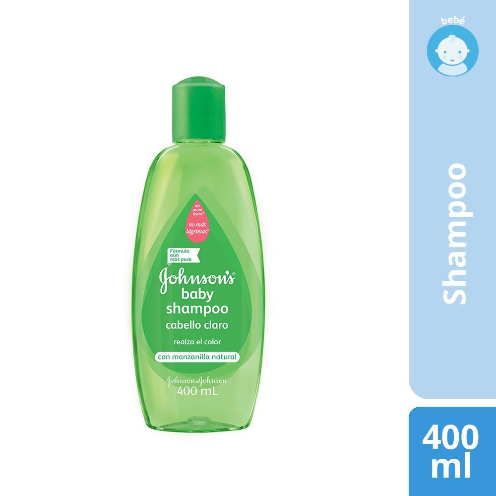 Shampoo Johnson Baby Cabello Claro Bot 400 Ml