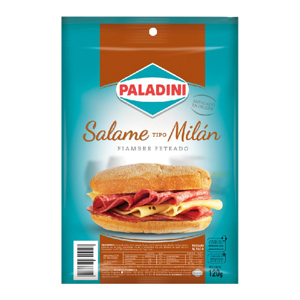 Salame Milan PALADINI Feteado Bli 120 Grm
