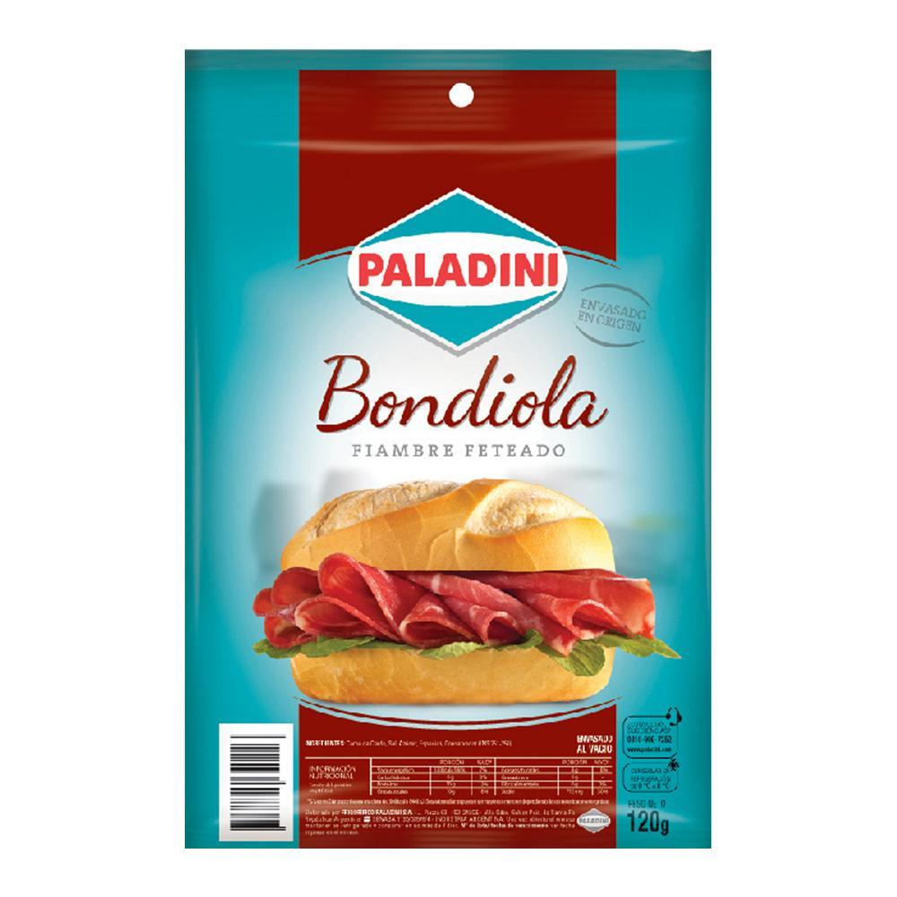 Bondiola Feteada PALADINI Bli 120 Grm