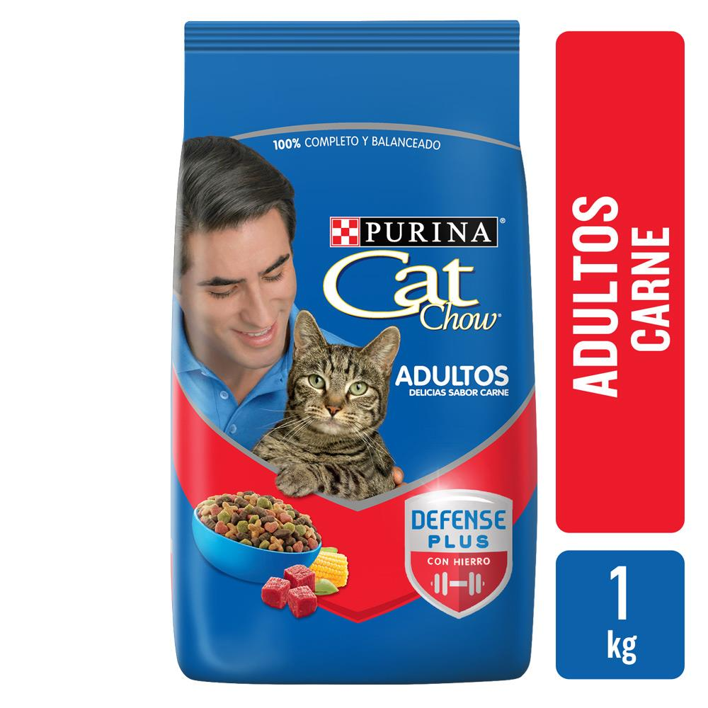 Alimento Para Gato CAT CHOW Adulto Carne Bsa 1 Kg