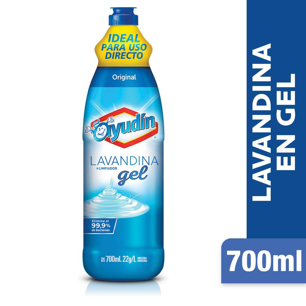 Lavandina En Gel AYUDÍN   Original   Botella 700 Ml
