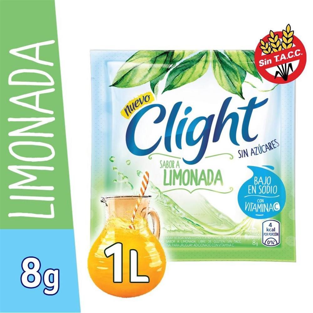 Jugo En Polvo CLIGHT Limonada Light   Sobre 7.5 Gr
