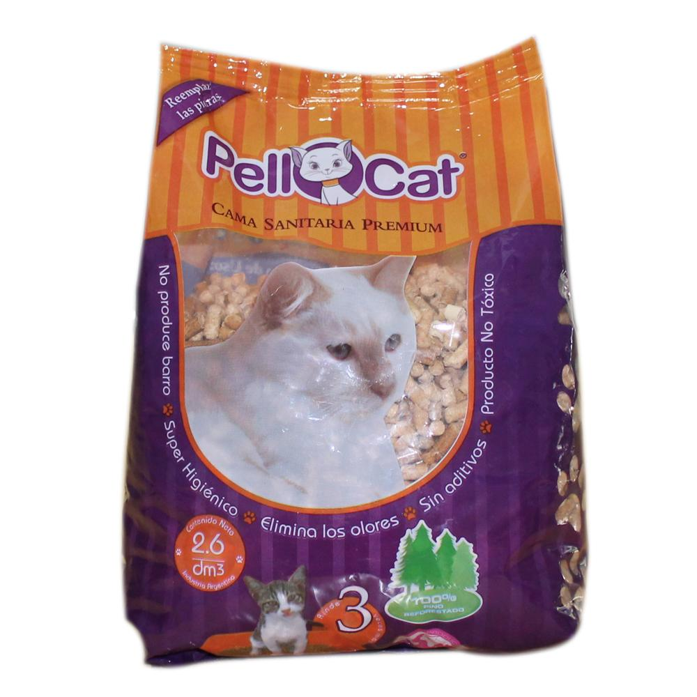 Granulado Sanitario Para Gatos Pellcat Bsa 1.7 Kg