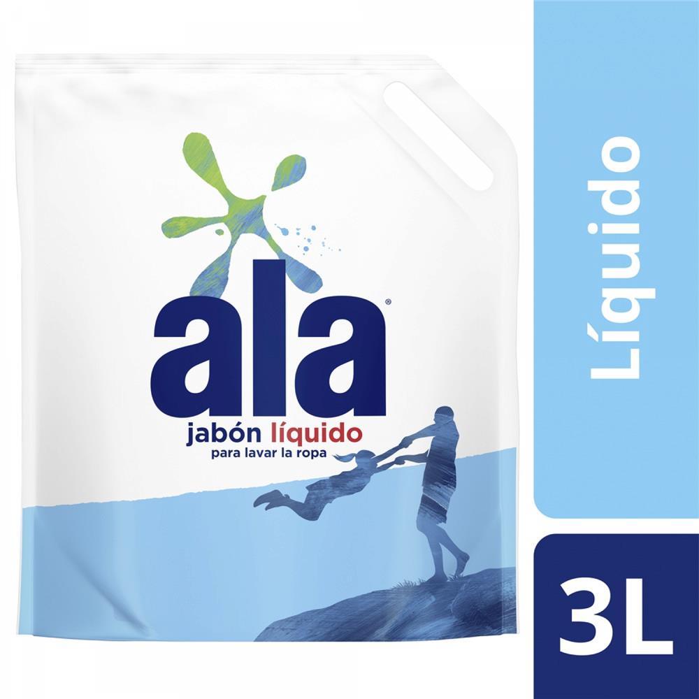 2d02915bedb Jabón Liquido ALA Doypack 3 L