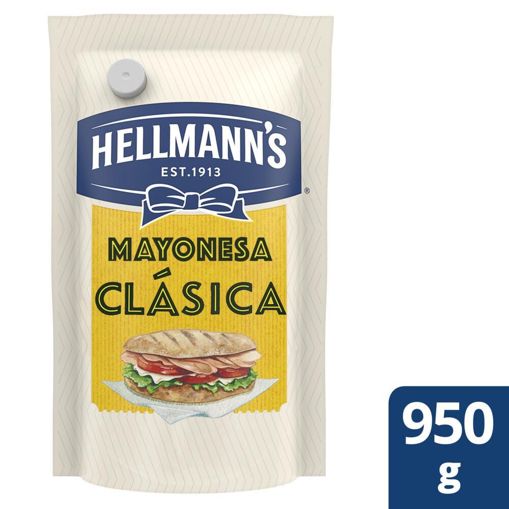 Mayonesa HELLMANNS Clásica Pouch 950 Gr