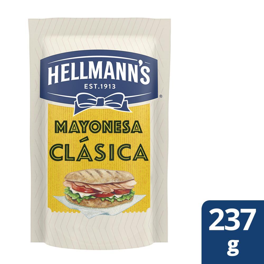 Mayonesa HELLMANNS Clásica Pouch 237 Gr