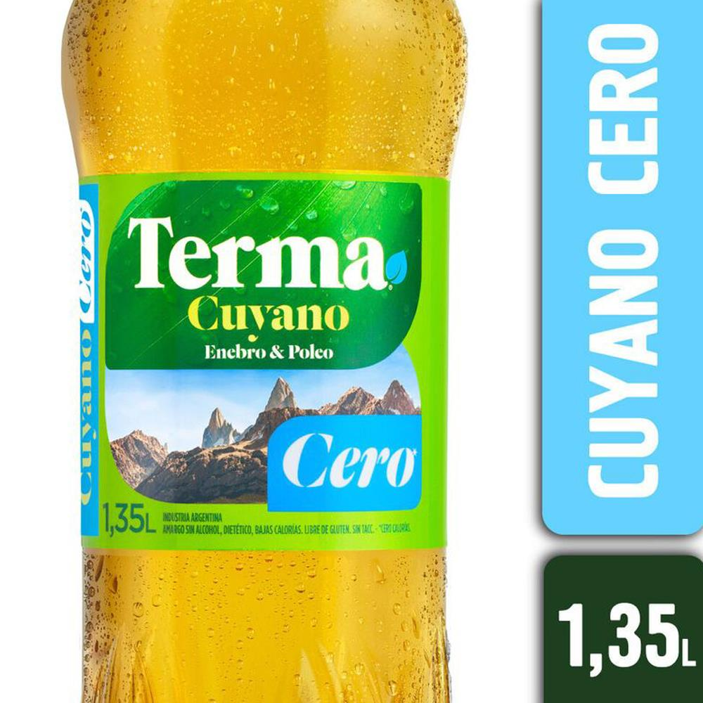 Amargo TERMA LIGHT Cuyano Cero Botella 1.35 L