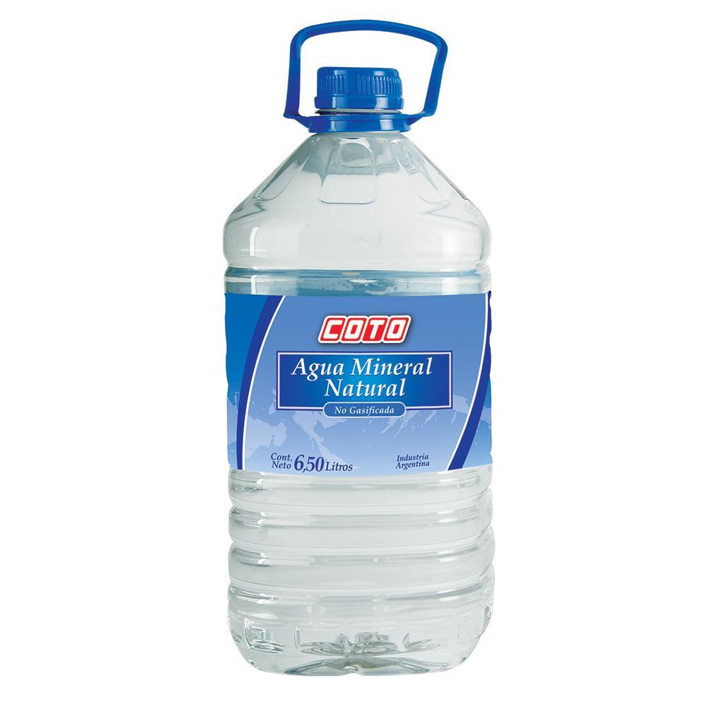 Agua Mineral COTO Bidon 6.5 L