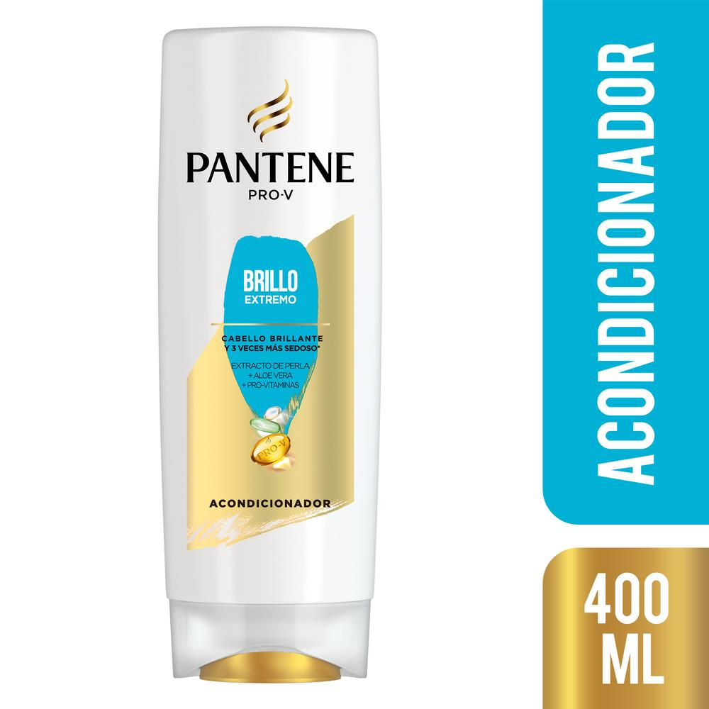 Acondicionador PANTENE Brillo Extremo    Botella 400 ML