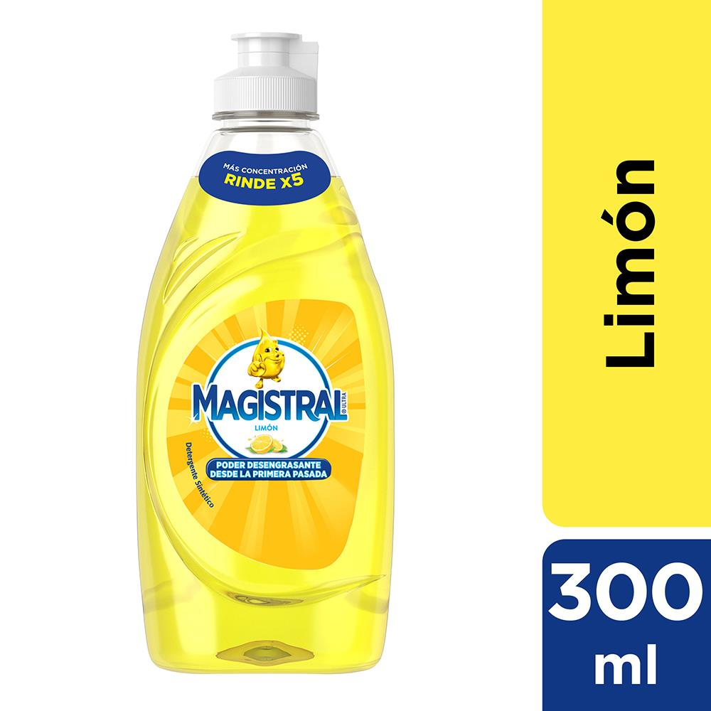 Detergente MAGISTRAL Limón Botella 300 Ml