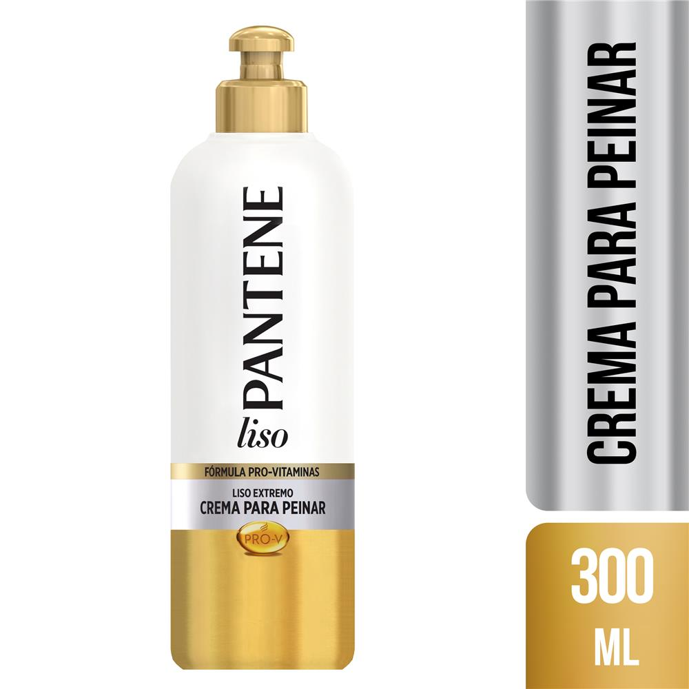 Crema Para Peinar PANTENE Liso Extremo Botella 300 Ml