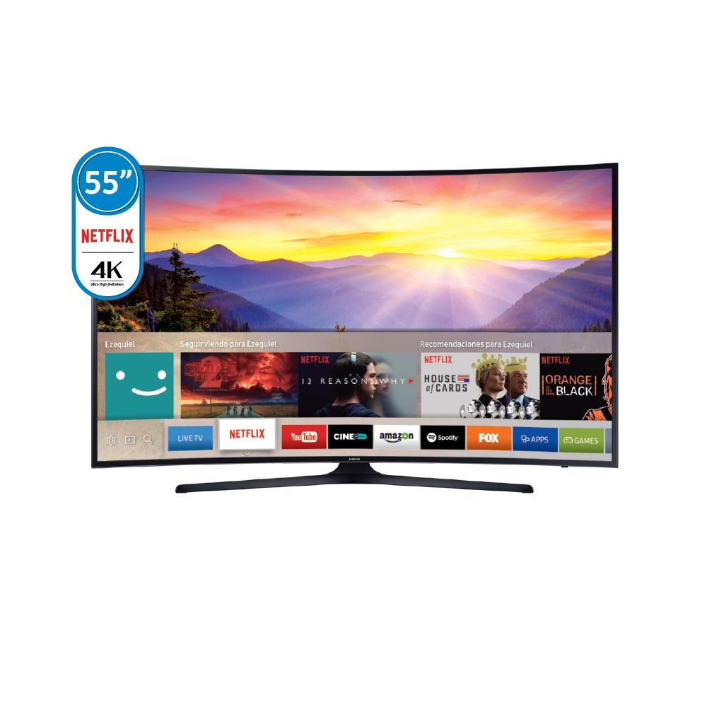 "Smart Tv Led Curvo  SAMSUNG 55"" 4K Un55ku6300"