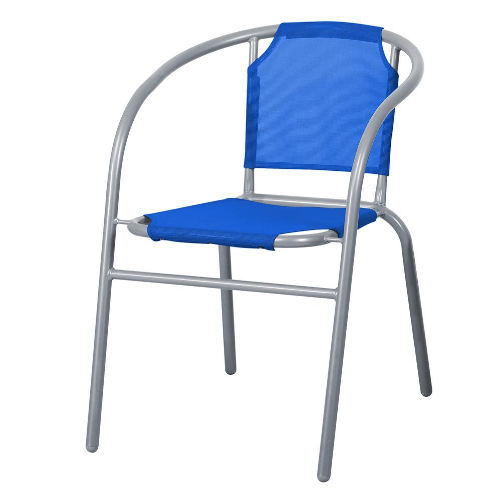 Silla Bistro Sling Azul. . . .53x62.5x72.5 Cm...