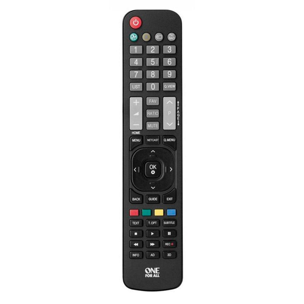 Control Remoto Universal ONE FOR ALL Urc1911 Para Tv Lg