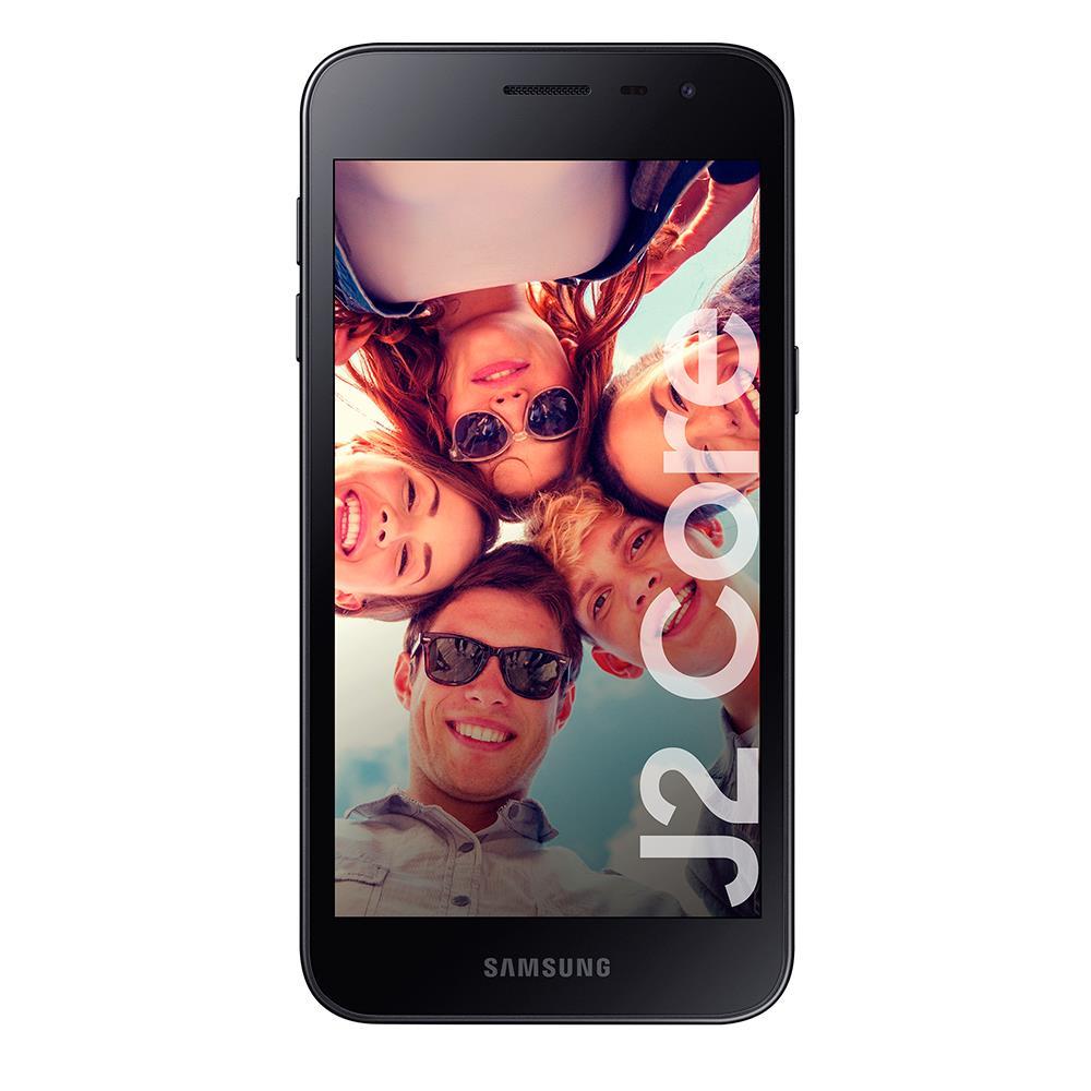 "Celular Libre SAMSUNG GALAXY 4G LTE 5"" J2 Core Negro"