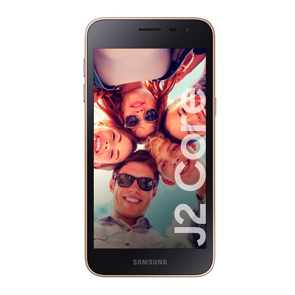 """Celular Libre SAMSUNG GALAXY 4G LTE 5"""" J2 Core Dorado"""
