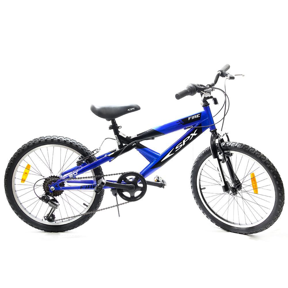 """Bicicleta Bmx Fire SPX 20"""" Fire Azul"""