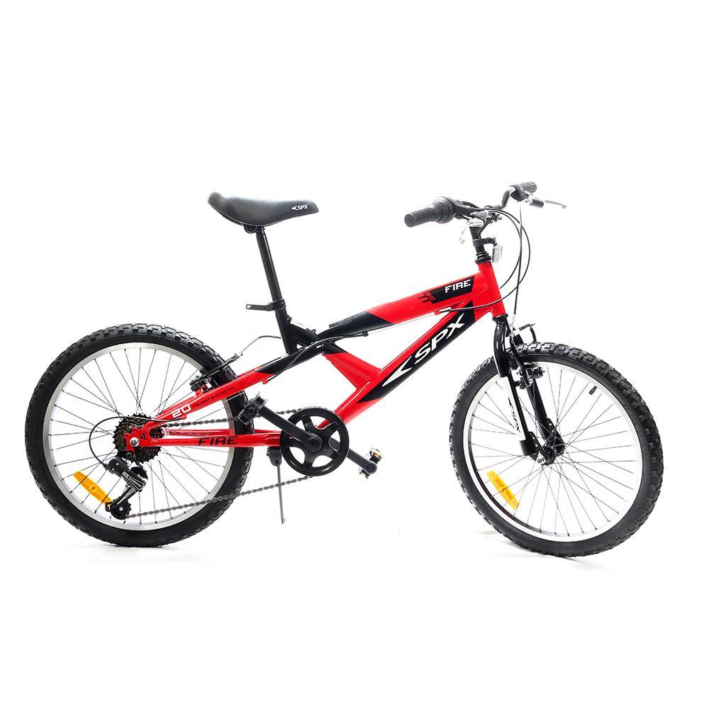 """Bicicleta Bmx Fire SPX 20"""" Fire Roja"""