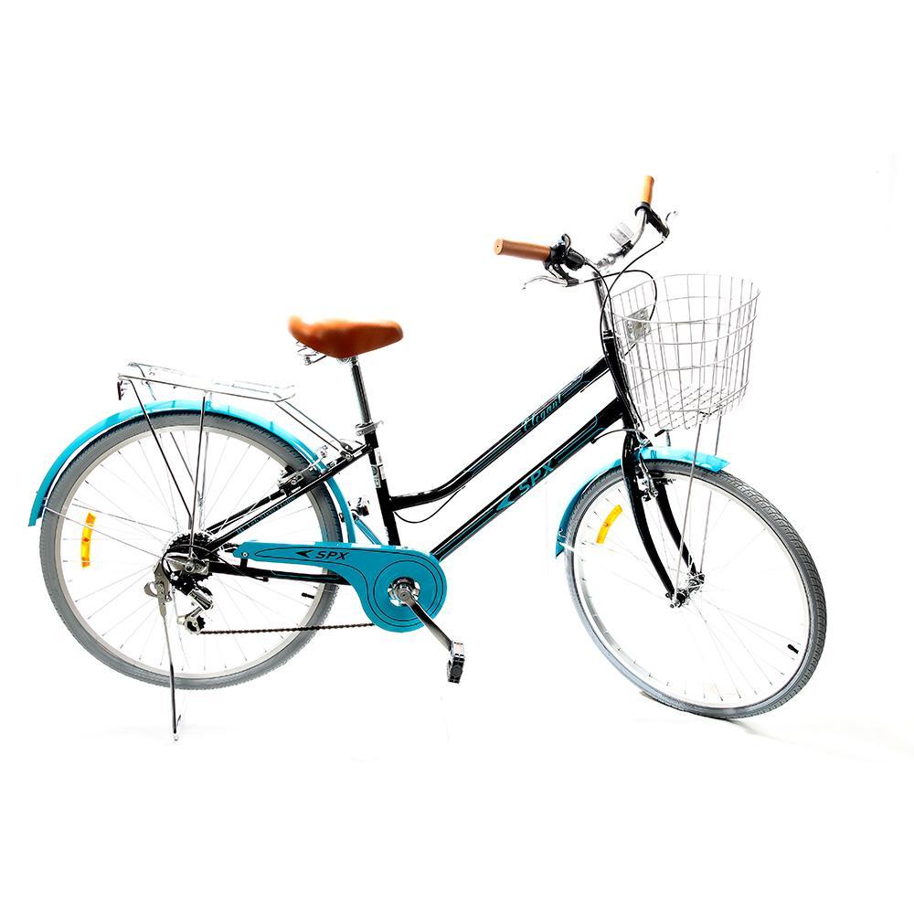 "Bicicleta De Paseo Elegant SPX 26"" Negro"