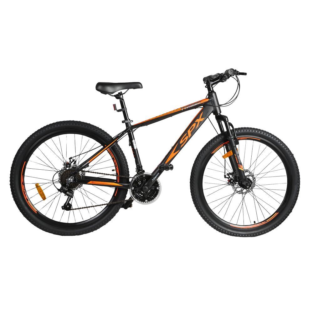 "Bicicleta Mountain Bike Typhoon SPX 26"" Negro - Naranja"