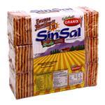 Galletitas Crackers Sin Sal GRANIX Paq 555 Grm