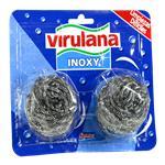 Esponja Bronce VIRULANA Inoxy Paq 2 Uni