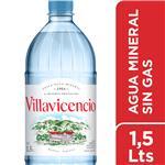 Agua Mineral  VILLAVICENCIO    Botella 1.5 L