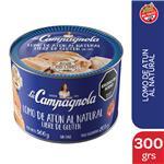 Atun Al Natural  La Campagnola Entero Lata 300 Gr