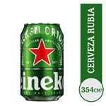 Cerveza Lager HEINEKEN   Lata 354 Cc