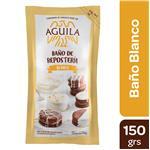 Baño De Chocolate AGUILA Blanco Pou 150 Grm
