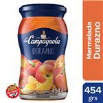 Mermelada Durazno La Campagnola  Frasco 454 Gr